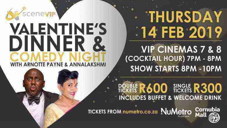 Valentine's Dinner & Comedy Night